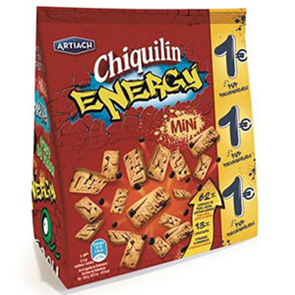 Picture of Bolacha CHIQUILIN Energy Mini 125gr
