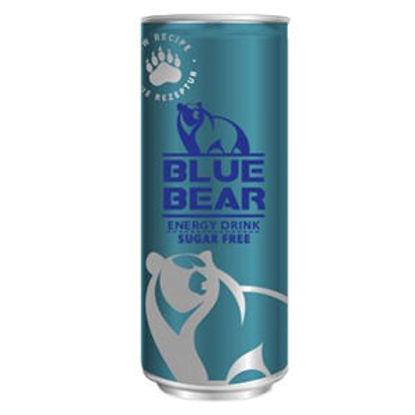 Picture of Bebida Energ BLUE BEAR S/ Acucar 250ml