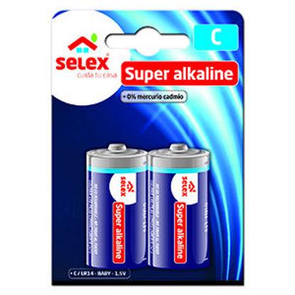 Imagem de Pilhas SELEX Alcalinas LR14 2un
