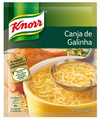 Imagem de Sopa KNORR Canja Galinha 68gr
