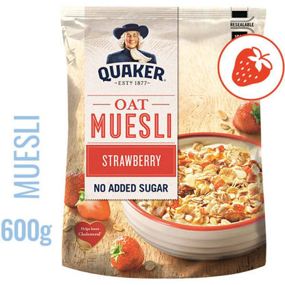 Picture of Cereais QUAKER Muesli Morango 600gr