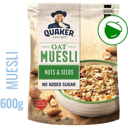 Picture of Cereais QUAKER Muesli Frutos Secos 600gr
