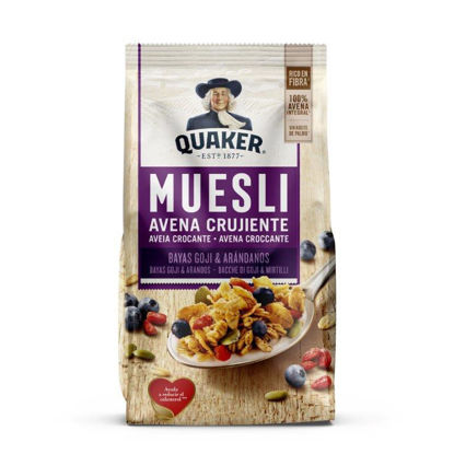 Picture of Cereais QUAKER Muesli Goji Mirtilo 350gr