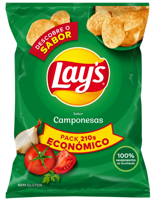 Picture of Bat Frit LAYS Camponesas 210gr