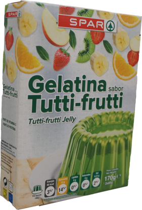 Imagem de Gelatina SPAR Tutti Frutti 2x85gr