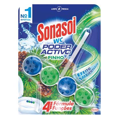 Picture of Bloco Sanit SONASOL WC Poderactivo Pinho 50gr