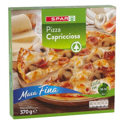 Imagem de Pizza SPAR Congelada Capricciosa 370gr